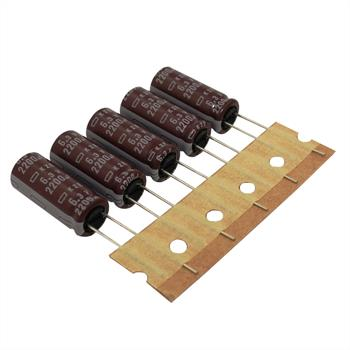 Electrolytic Capacitor rad. 2200µF 6,3V 105°C ; EKZE6R3ETD222MJ25S ; 2200uF