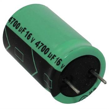 Elko Kondensator radial 4700µF 16V 105°C ; RGA472M1CCC16255 ; 4700uF