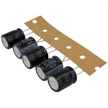 Elko Kondensator radial 1000µF 25V 105°C ; 25WXA1000MHELG4 ; 1000uF