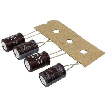 Elko Kondensator Radial 22µF 100V 105°C EKMG101ETD220MHB5D d8x11,5mm 22uF