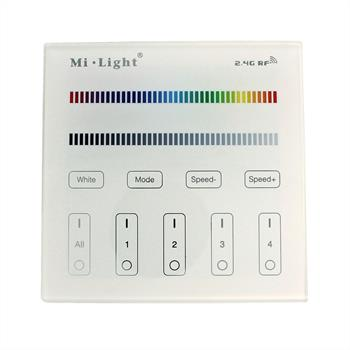 MiLight RGB RGBW 4-Zone Wand Touch Panel Controller Funk 3V Batterie