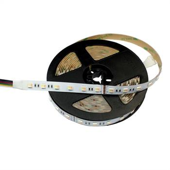 RGBW+WW CCT LED Streifen Band Leiste 5in1 Chip 5m ; 24V IP20