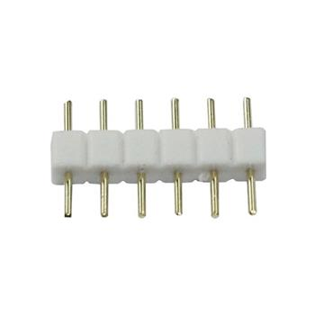 LED jumper RGBW+WW CCT 6 PIN connector adapter coupling connector