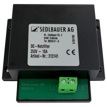 DC Netzfilter 250V 16A für Ringkerntrafos Audiogeräte zur Brummminimierung