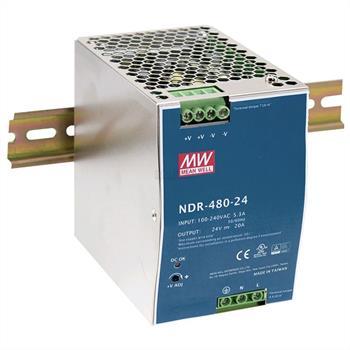 Hutschienen-Netzteil NDR-480-48 - 480W 48V