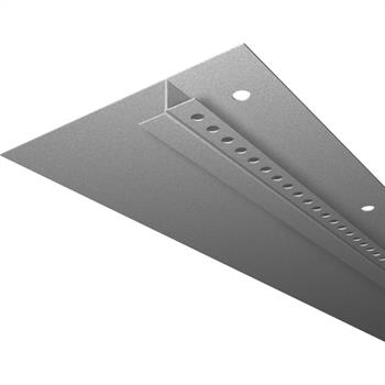 LED Drywall profile SNL with wing 20-80mm (Length: 2m) ; Plasterboard