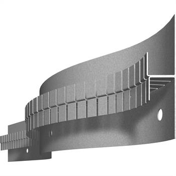 LED Drywall profile SNL flex Circum 21 20-80mm (Length: 2m) ; Plasterboard
