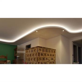 LED Drywall profile AWP for cover light 35° (Length: 2m) ; Plasterboard