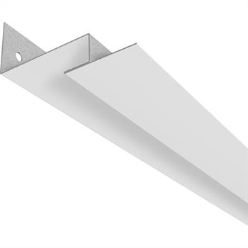 LED profile WRD-40 Wall angle for grid plaster coffered ceiling (Length: 2m)