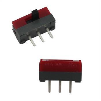 Schiebeschalter Miniatur 2Positionen 3Pins RM 2,5mm ; Nikkai