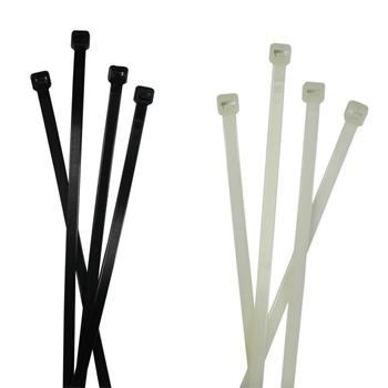 100x Cable tie Releasable 370 x 4,8mm ; Reusable