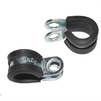 P-Clip Metall + Gummi 13mm