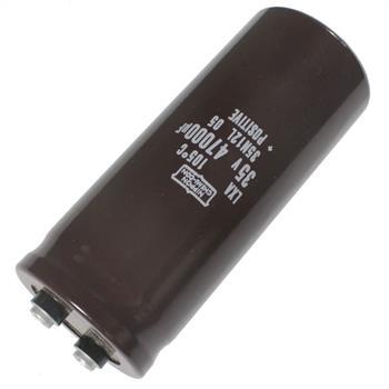 Screw Electrolytic Capacitor 47000µF 35V 105°C ; ELXA350LGN473TCC0M ; 47000uF
