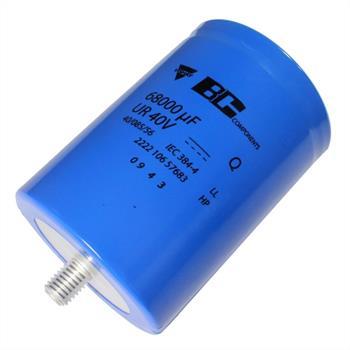 Schraub-Elko 68000µF 40V 85°C 76x105mm