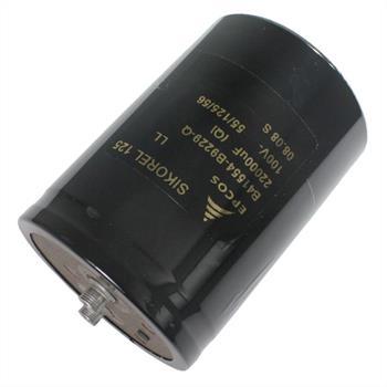 Schraub-Elko 22000µF 100V 125°C 76x105mm