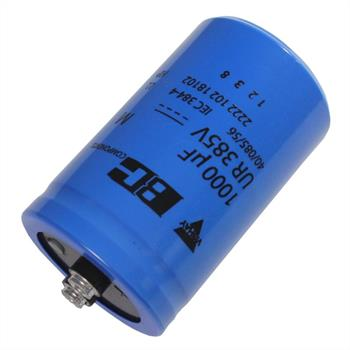 Screw Electrolytic Capacitor 1000µF 385V 85°C ; MAL210218102E3 ; 1000uF