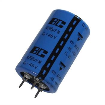 3-Pin Electrolytic Capacitor 4700µF 40V 85°C ; MAL205157472E3 ; 4700uF