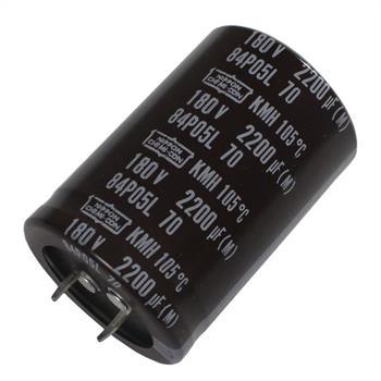 Snap-In Elko 2200µF 180V 105°C 35x50mm