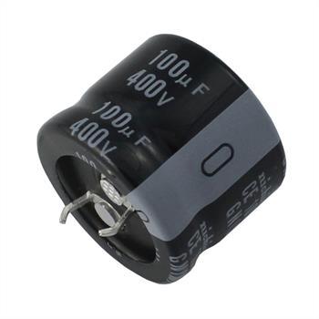 Snap-In Elko Kondensator 100µF 400V 105°C ; LGN2G101MELFTY ; 100uF