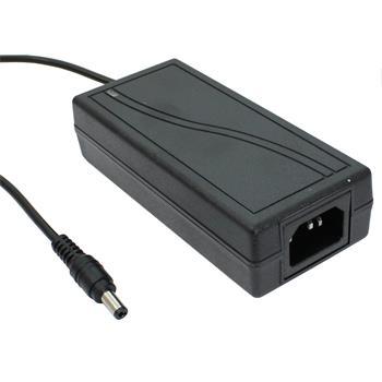 72W 12V 6A Tischnetzteil Kabel 100cm + DC Stecker (2,5/5,5mm)