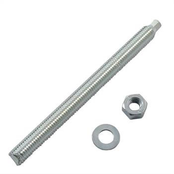 Anchor rod M10 x 130mm Chemical stud resin threaded rod ; galvanized