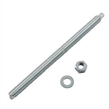 Anchor rod M10 x 165mm Chemical stud resin threaded rod ; galvanized