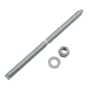 Anchor rod M12 x 220mm Chemical stud resin threaded rod ; galvanized
