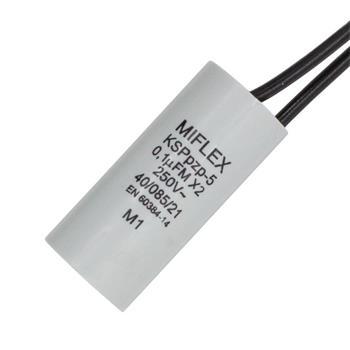 Entstörkondensator 0,1µF 250V 15,5x35,5mm