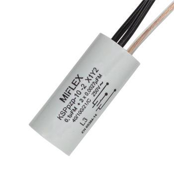 Entstörkondensator 1x 0,1µF + 2x 0,0027µF 250V