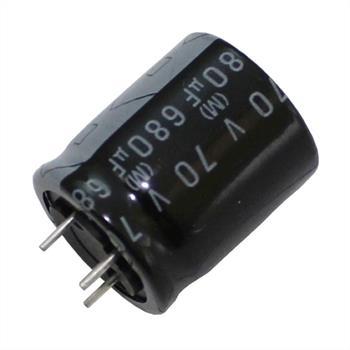 3-Pin Elko 680µF 70V 125°C 18x20mm