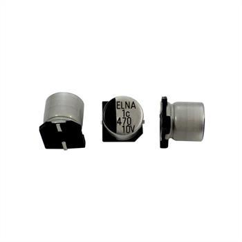 SMD Elko Kondensator 470µF 10V 105°C ; RVJ-10V471MH10Y-RR2 ; 470uF