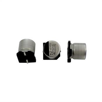 SMD Electrolytic Capacitor 100µF 25V 105°C ; RVZ-25V101MG68U-R2 ; 100uF