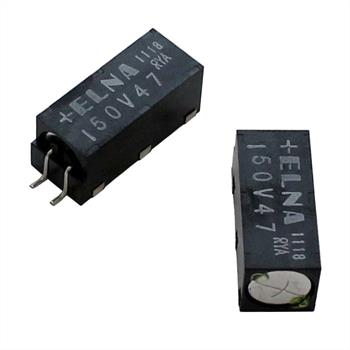 SMD-Elko 47µF 50V 150°C 9,5x24mm