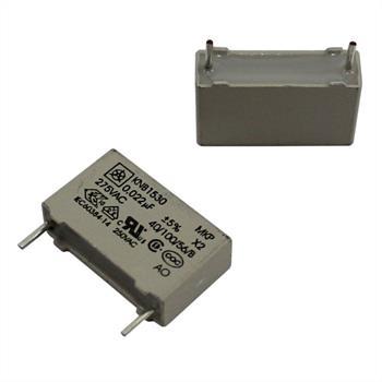 MKP-Kondens. rad. 0,022µF 275VAC RM15