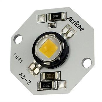 High Power LED Modul Warm-Weiß 3000K 4W 180lm 230V 20mA, Seoul AN3231-03LF