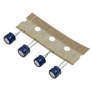 Elko Kondensator Radial 100µF 10V 85°C RC3-10V101MF0#-T58 d6,3x5mm 100uF
