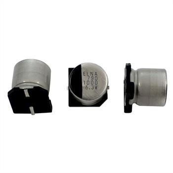 SMD Elko Kondensator 1000µF 6,3V 105°C ;RVD-6V102MGA5U-R2 ;1000uF