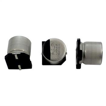 SMD Elko Kondensator 1500µF 6,3V 105°C ;RVD-6V152MHA5U-R2 ;1500uF