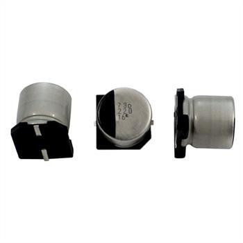 SMD Electrolytic Capacitor 220µF 16V 105°C ; RVD-16V221MF80U-R2 ; 220uF