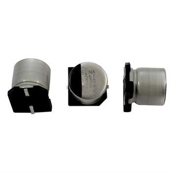 SMD Electrolytic Capacitor 330µF 25V 125°C ;RVT-25V331MH10ZTQ-R2 ;330uF