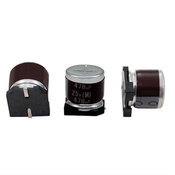 SMD Electrolytic Capacitor 470µF 25V 105°C ; RVZ-25V471MHA5U-R2 ; 470uF