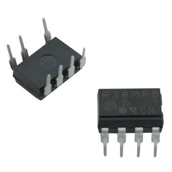 Solid-State-Relais PR36MF51NSZ6 Sharp 600V 0,6A ; DIL-7 DIL-8 ; PR36MF51
