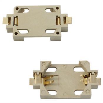 SMD Batteriehalterung Knopfzellen Clip CR2032 ; 29x16x5,5mm
