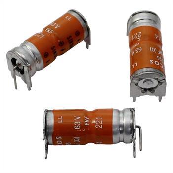 Elko Kondensator Axial 220µF 63V 125°C B41795S8227Q1 220uF