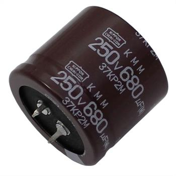 Snap-In Elko Kondensator 680µF 250V 105°C ; EKMM251VSN681MA30S ; 680uF