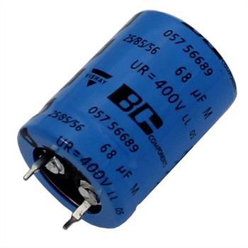 Snap-In Elko Kondensator 68µF 400V 85°C ; MAL205756689E3 ; 68uF