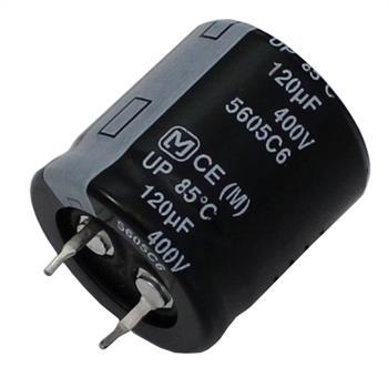 Snap-In Elko Kondensator 120µF 400V 85°C ; ECOS2GP121CX ; 120uF