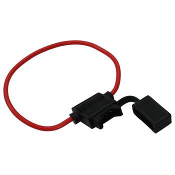 KFZ Auto Sicherungshalter + 19mm 30A Flachsicherung ; Wasserdicht