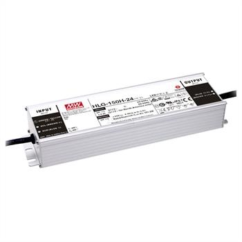 LED power supply 150W 24V 6,3A ; MeanWell HLG-150H-24B ; dimming function