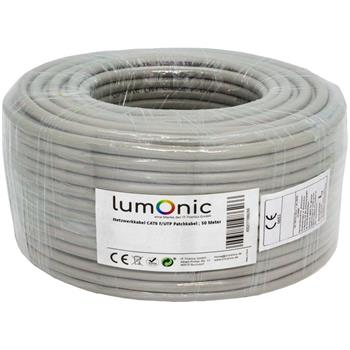 Network Cable Cat.6 50m ; F/UTP ; Cat6 Ethernet Patch Cat6 Cable